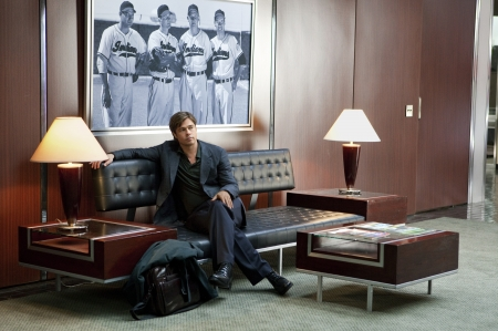 Brad Pitt on Oakland Athleticsin manageri Billy Beane