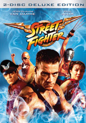 Street Fighter - 2-Disc Deluxe Edition DVD arvostelu kansi