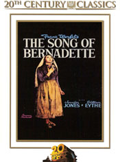 The Song of Bernadette DVD arvostelu kansi