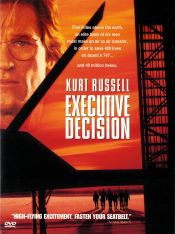 Executive Decision DVD arvostelu kansi
