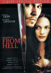 From Hell - Special Edition DVD arvostelu kansi