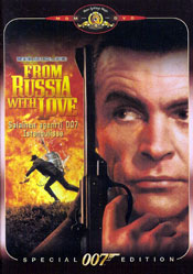 From Russia with Love - Special Edition DVD arvostelu kansi
