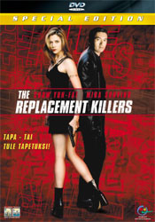 The Replacement Killers - Special Edition DVD arvostelu kansi