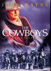 The Cowboys DVD arvostelu kansi