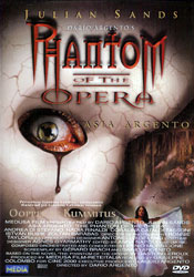 Phantom of the Opera DVD arvostelu kansi