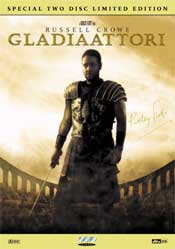 Gladiaattori - Special Two Disc Limited Edition DVD arvostelu kansi