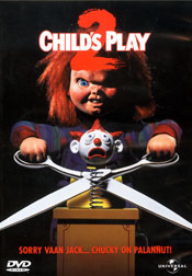 Child's Play 2 DVD arvostelu kansi