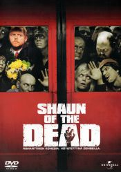 Shaun of the Dead DVD arvostelu kansi