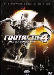 Fantastic 4 – Rise of the Silver Surfer DVD arvostelu kansi