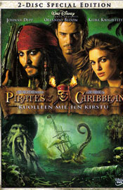 Pirates of the Caribbean – Kuolleen miehen kirstu - 2-Disc Special Edition DVD arvostelu kansi