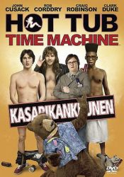 Hot Tub Time Machine – Kasarikankkunen DVD arvostelu kansi