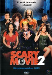 Scary Movie 2 DVD arvostelu kansi