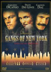 Gangs of New York DVD arvostelu kansi