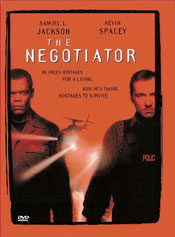 The Negotiator DVD arvostelu kansi